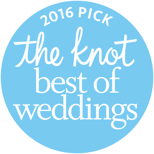 """Best of Wedding"" badge 2016"
